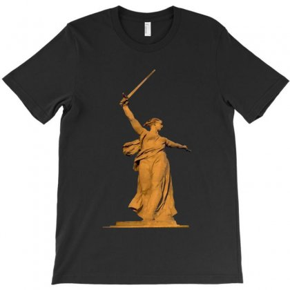 The Motherland Calls Battle Of Stalingra T-shirt Designed By Papa Boutique