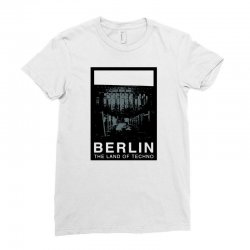 berlin   the land of techno Ladies Fitted T-Shirt | Artistshot