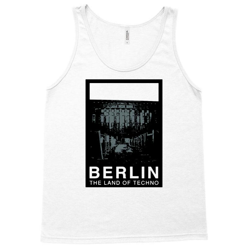 Berlin   The Land Of Techno Tank Top | Artistshot