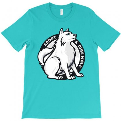 A Dire Wolf T-shirt Designed By Lotus Fashion Realm