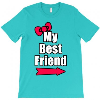 Best Friend Right Arrow T-shirt Designed By Lotus Fashion Realm
