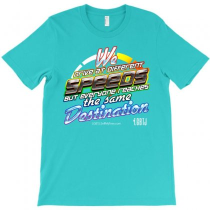Different Speeds T-shirt Designed By Lotus Fashion Realm
