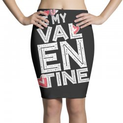 valentine's day t shirts Pencil Skirts | Artistshot