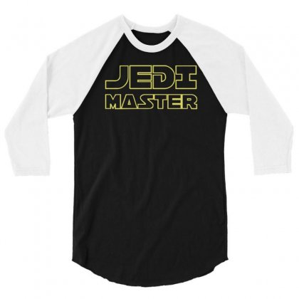 Jedi Master 3/4 Sleeve Shirt Designed By Ruliyanti