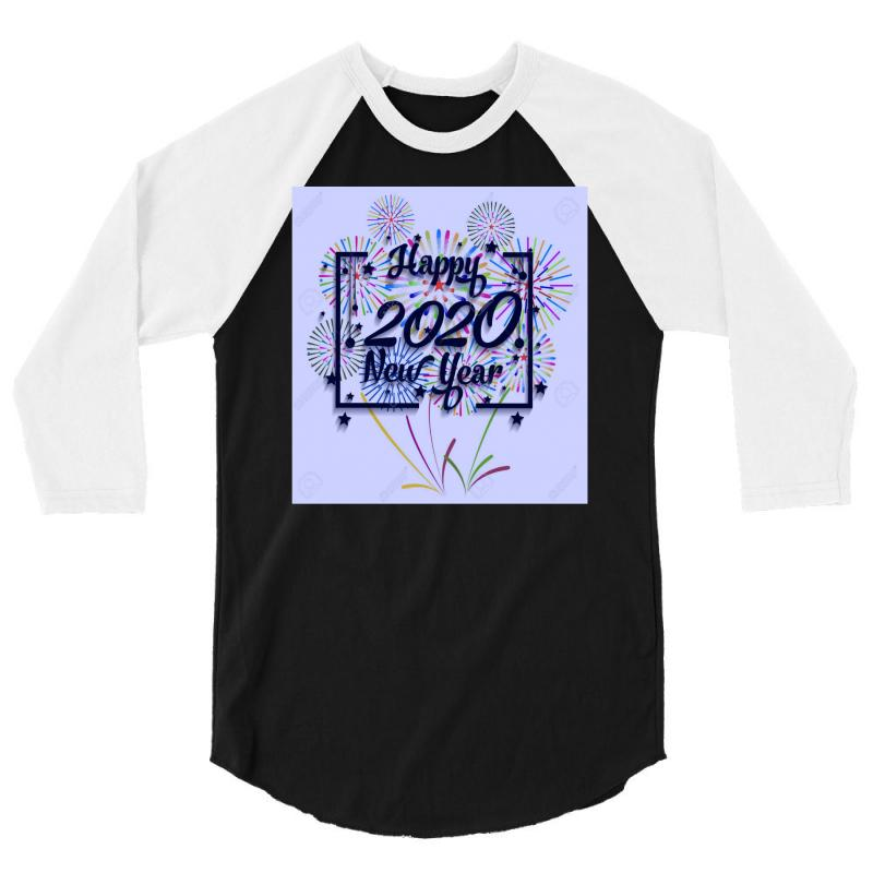 New Year 2020 3/4 Sleeve Shirt | Artistshot
