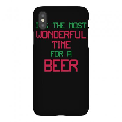 Most Wonderful Time For A Beer Iphonex Case Designed By Fanshirt