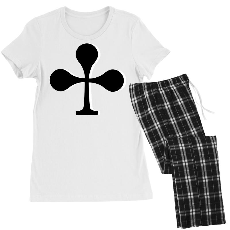 Cross Cards, Card Game, Signs Women's Pajamas Set | Artistshot