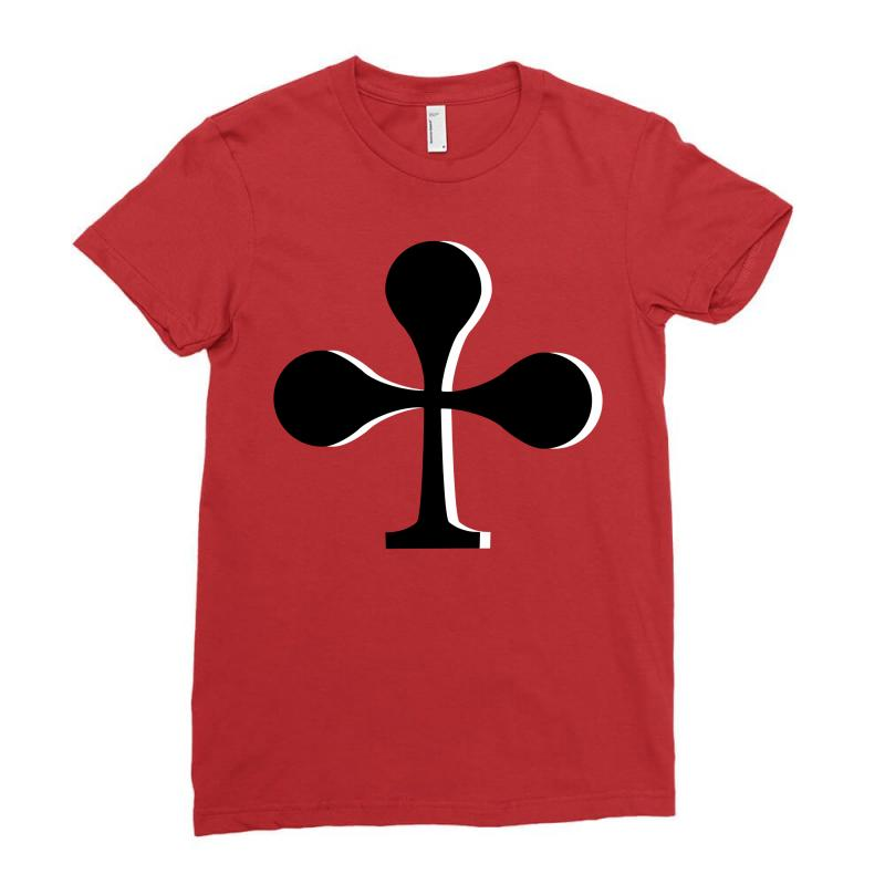 Cross Cards, Card Game, Signs Ladies Fitted T-shirt | Artistshot