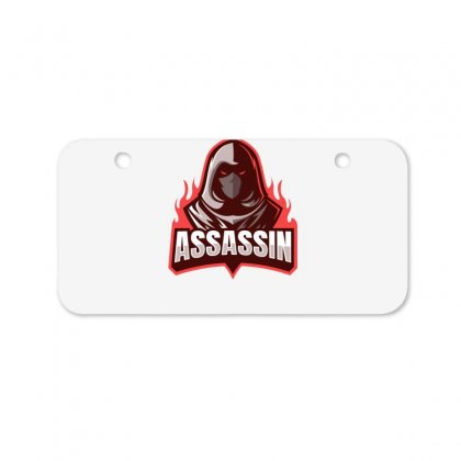 Assasin Bicycle License Plate Designed By Othy7