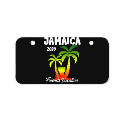 Jamaica 2020 Friends Vacation Bicycle License Plate Designed By Omer Acar