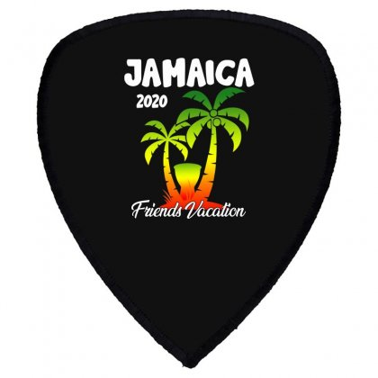 Jamaica 2020 Friends Vacation Shield S Patch Designed By Omer Acar