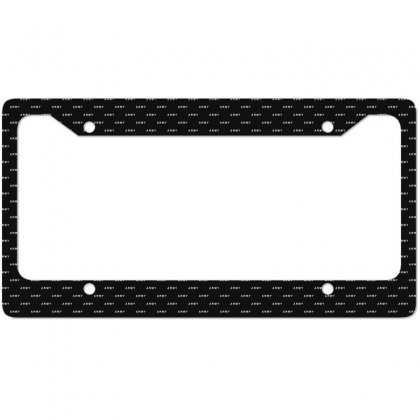Mens Army Military Us License Plate Frame Designed By Ruliyanti