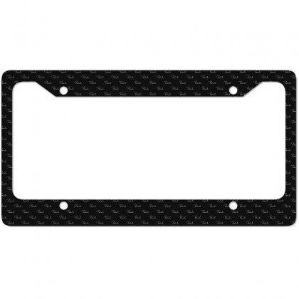 Paiste Signature New License Plate Frame Designed By Ruliyanti