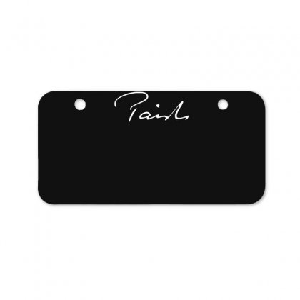 Paiste Signature New Bicycle License Plate Designed By Ruliyanti