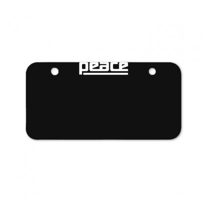 Peace Drum New Bicycle License Plate Designed By Ruliyanti
