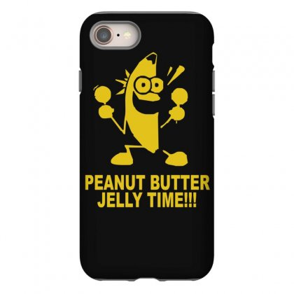 Peanut Butter Jelly Time Banana Iphone 8 Case Designed By Ruliyanti