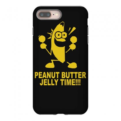 Peanut Butter Jelly Time Banana Iphone 8 Plus Case Designed By Ruliyanti