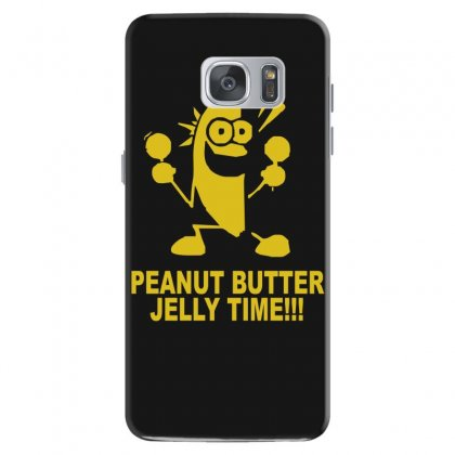 Peanut Butter Jelly Time Banana Samsung Galaxy S7 Case Designed By Ruliyanti