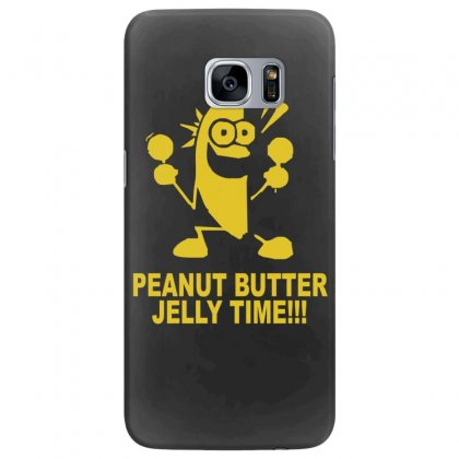 Peanut Butter Jelly Time Banana Samsung Galaxy S7 Edge Case Designed By Ruliyanti