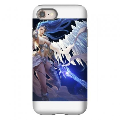 League Of Angels Character Glacia Angel Warrior Art Pictures Desktop H Iphone 8 Case Designed By Sonu Kumar Tiwari