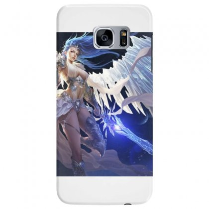 League Of Angels Character Glacia Angel Warrior Art Pictures Desktop H Samsung Galaxy S7 Edge Case Designed By Sonu Kumar Tiwari