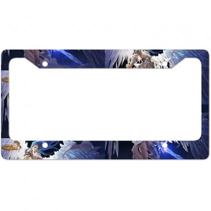League Of Angels Character Glacia Angel Warrior Art Pictures Desktop H License Plate Frame Designed By Sonu Kumar Tiwari