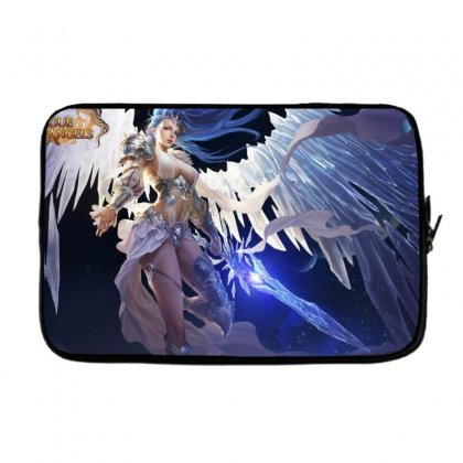 League Of Angels Character Glacia Angel Warrior Art Pictures Desktop H Laptop Sleeve Designed By Sonu Kumar Tiwari