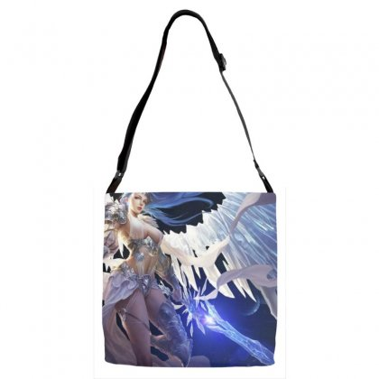 League Of Angels Character Glacia Angel Warrior Art Pictures Desktop H Adjustable Strap Totes Designed By Sonu Kumar Tiwari