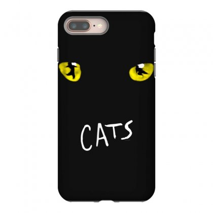 Official 'cats' Musical T Shirt Iphone 8 Plus Case Designed By Cuser1744