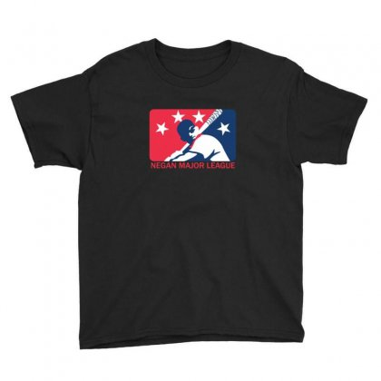 Negan Major League Youth Tee Designed By Sr88