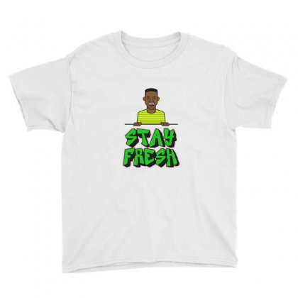 Stay Fresh Youth Tee Designed By Sr88