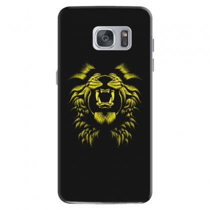 Angry Lion Samsung Galaxy S7 Case Designed By Usr