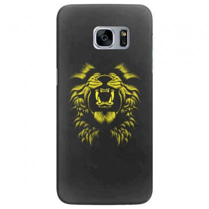 Angry Lion Samsung Galaxy S7 Edge Case Designed By Usr