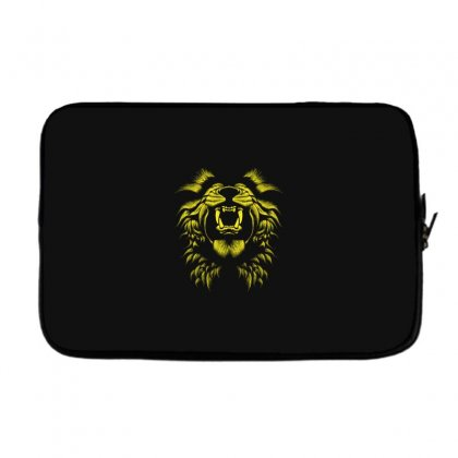 Angry Lion Laptop Sleeve Designed By Usr