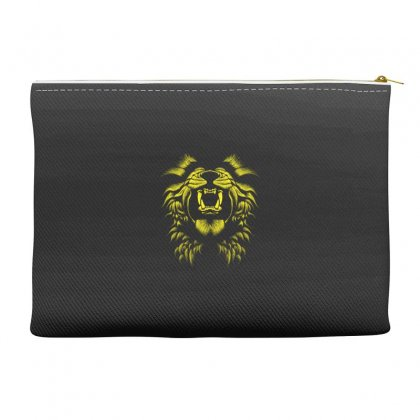 Angry Lion Accessory Pouches Designed By Usr