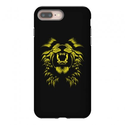 Angry Lion Iphone 8 Plus Case Designed By Usr