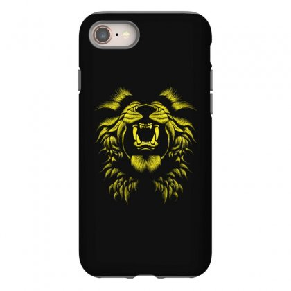 Angry Lion Iphone 8 Case Designed By Usr