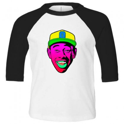Tamale   Tyler The Creator Toddler 3/4 Sleeve Tee Designed By Sr88