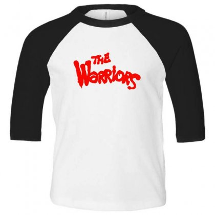 The Warriors Toddler 3/4 Sleeve Tee Designed By Sr88