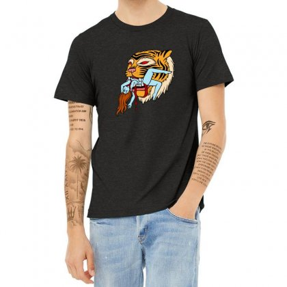Tiger Heather T-shirt Designed By Sr88