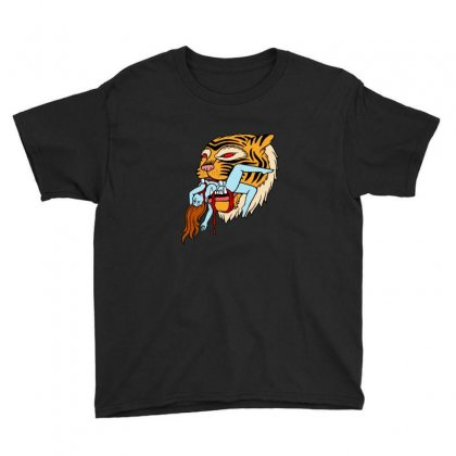 Tiger Youth Tee Designed By Sr88