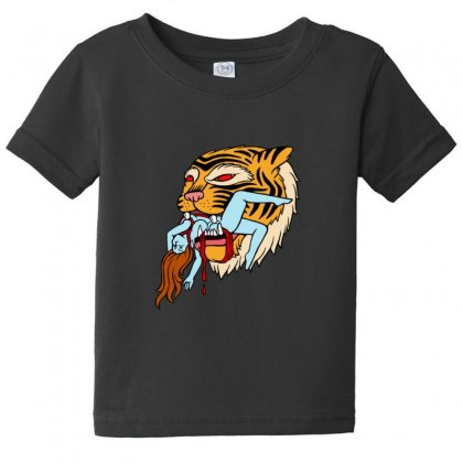 Tiger Baby Tee Designed By Sr88