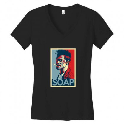 Tyler Durden Women's V-neck T-shirt Designed By Sr88