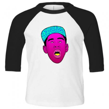 Tyler The Creator 1 Toddler 3/4 Sleeve Tee Designed By Sr88