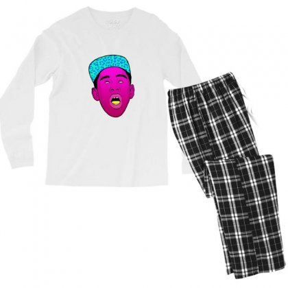 Tyler The Creator 1 Men's Long Sleeve Pajama Set Designed By Sr88