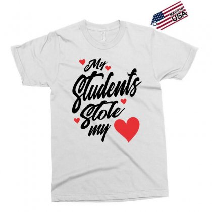 My Students Stole My Heart Teacher Valentines Day Gift Exclusive T-shirt Designed By Cidolopez