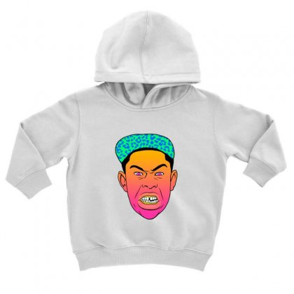 Tyler The Creator 2 Toddler Hoodie Designed By Sr88