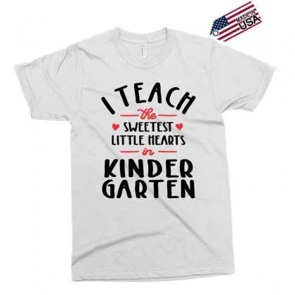 I Teach The Sweetest Little Hearts Valentines Day Teacher Exclusive T-shirt Designed By Cidolopez