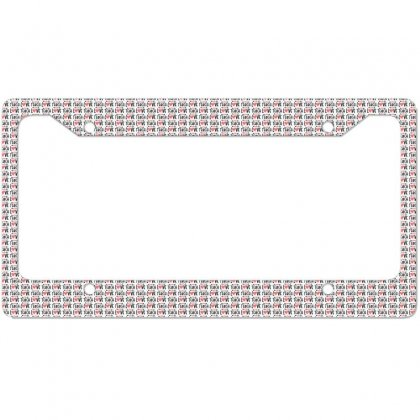 To Teach Is To Love Heart Valentines Day Gift License Plate Frame Designed By Cidolopez