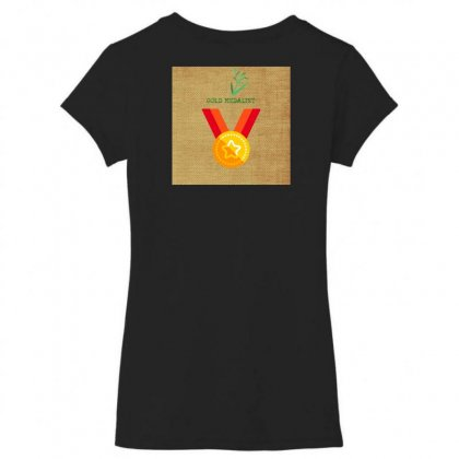 Mon 20 01 2020 21 50 14 Women's V-neck T-shirt Designed By Kalwarboy